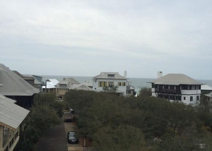 View from the roof top of our home.