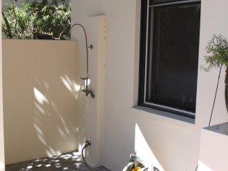 front outdoor shower