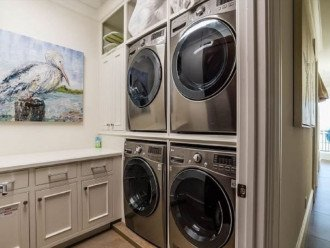 1st Floor Laundry Room feat. 2 Washers and Dryers