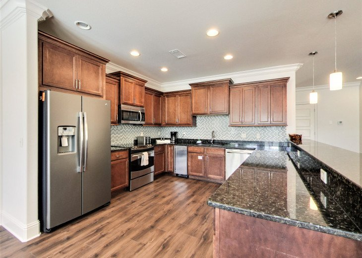 Fully Upgraded Gourmet Kitchen feat. Stainless Appliances