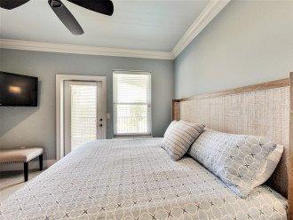 2nd floor King Bedroom with Jack and Jill bathroom