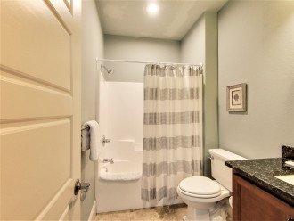 1st floor King suite bathroom tub/shower combo