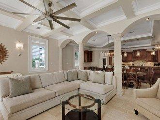 First Floor Open Living Area