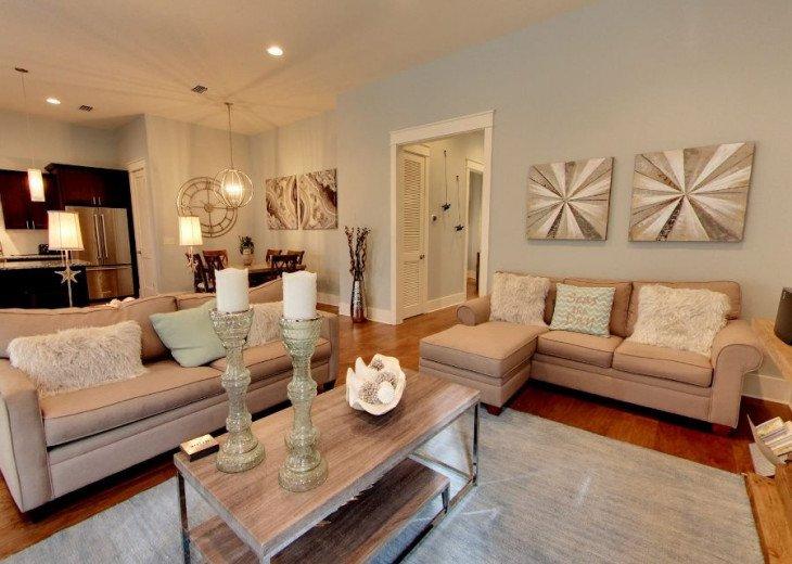 Second Floor Living/Kitchen Area