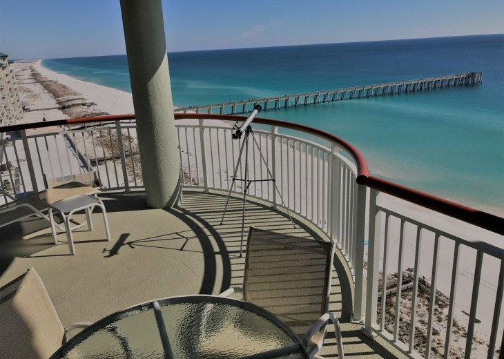 Beach Colony East, Magnificent 17th Floor Penthouse Views, directly beachfront #41