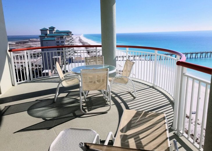 Beach Colony East, Magnificent 17th Floor Penthouse Views, directly beachfront #40