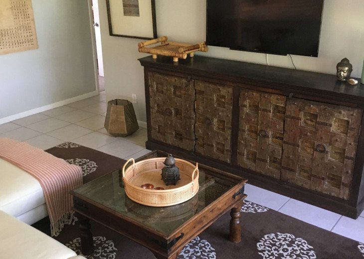 Uniquely beautiful furnishings to enjoy binge worthy TV.