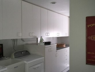 Utility room with Washer/Dryer and other essentials