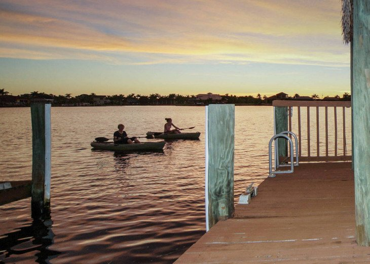 Villa Pelican - Cape Coral 8 Lakes! Kayaks, Dock, Heated Pool #4