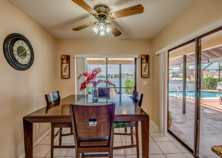 Villa Pelican - Cape Coral 8 Lakes! Kayaks, Dock, Heated Pool #14
