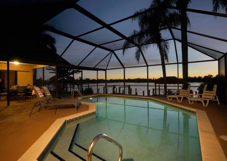 Villa Pelican - Cape Coral 8 Lakes! Kayaks, Dock, Heated Pool #5