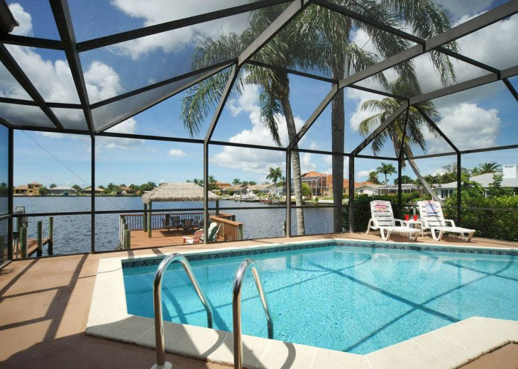 Villa Pelican - Cape Coral 8 Lakes! Kayaks, Dock, Heated Pool #2