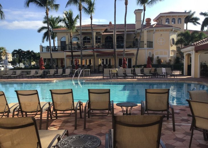 Gulf Harbour Marina Pool & Clubhouse