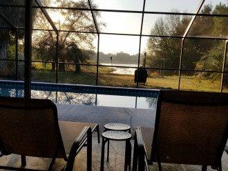 Pool home on the lake #1
