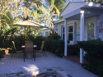 Enjoy the ocean breezes and night jasmine on the front deck