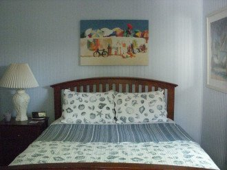 Bedrooms have linens, pillows, blankets and comforters