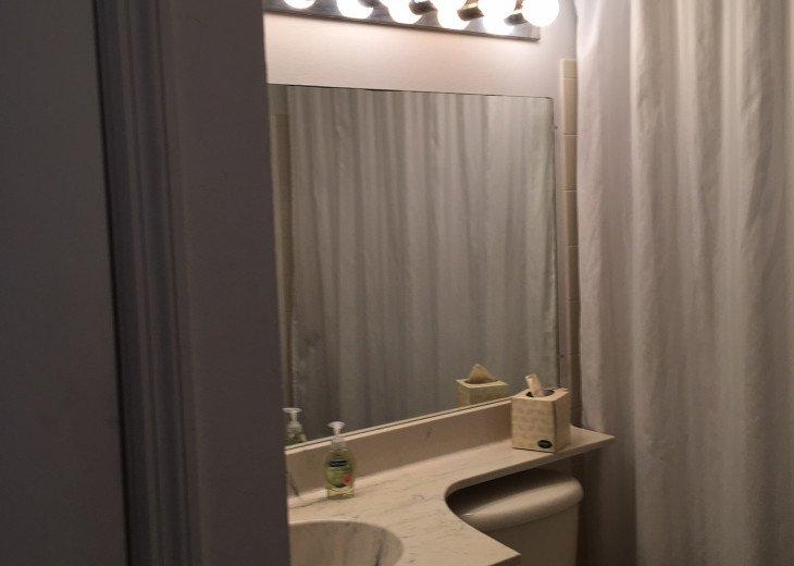 Bath with tub shower