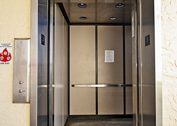 South Building Elevator to 3rd Floor Unit 305