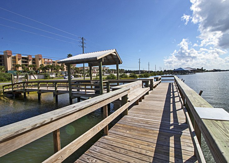 Windjammer Private Fishing Pier on Intracoastal