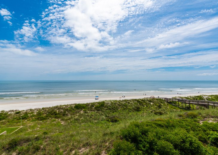 View from Balcony of Dunes and Crescent Beach