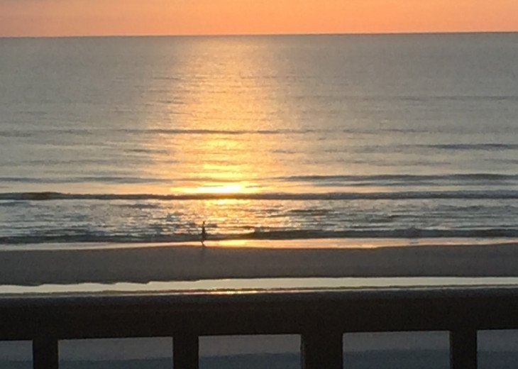 Sunrise from 305 Balcony