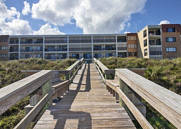 Ramped Beach Boardwalk Looking Toward Windjammer 305