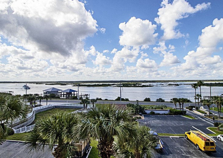 View from Condo of Intracoastal Waterway