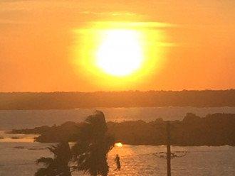 Sunset over Intracoastal from 305 Balcony