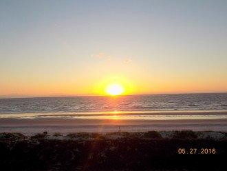Sunrise From 305 Oceanfront Balcony