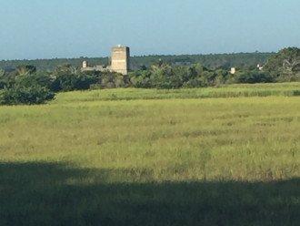 Fort Matanzas at Matanzas INlet 2 miles south of 305