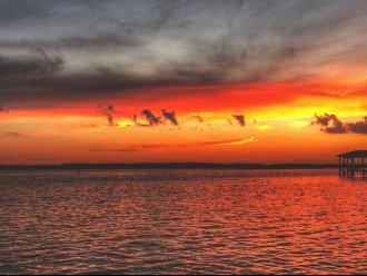 Sunset from 305 Balcony on Intracoastal
