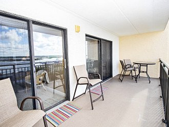Intracoastal Balcony Accessible from Both Guest Bedrooms