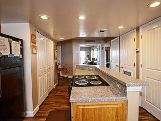 View of Kitchen Hall, Pantries, Foyer & Guest Bedrooms with ICW