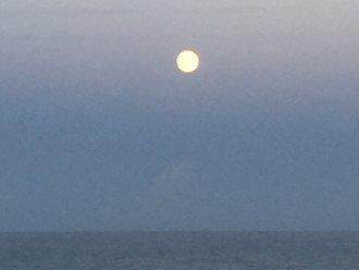 Moonrise from 305 Oceanfront Balcony