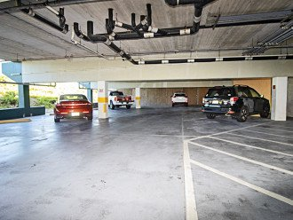 Covered Garage Parking for One Vehicle