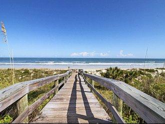 Windjammer Beach Ramp leading to Crescent Beach