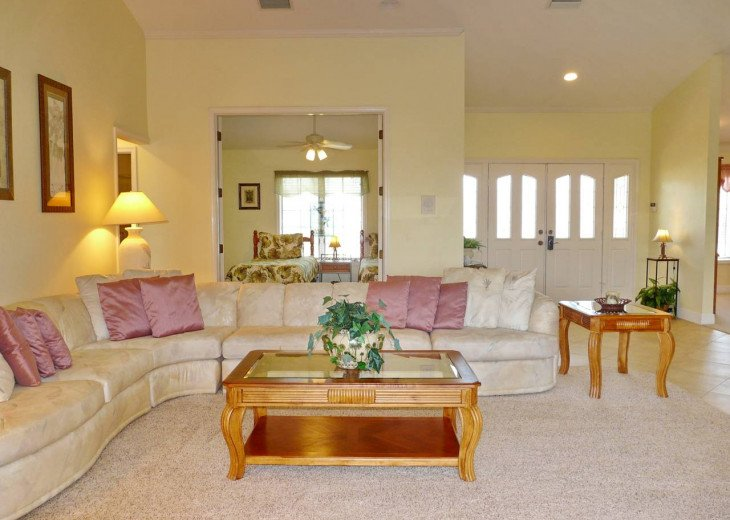~ Spacious Waterfront 4 Bedroom with Large Heated SW Facing Pool ~ #5