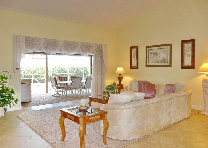 ~ Spacious Waterfront 4 Bedroom with Large Heated SW Facing Pool ~ #4