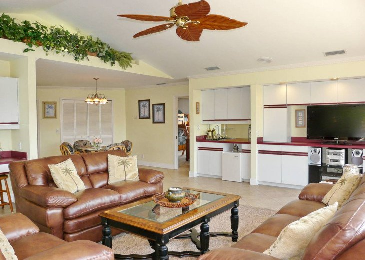 ~ Spacious Waterfront 4 Bedroom with Large Heated SW Facing Pool ~ #10