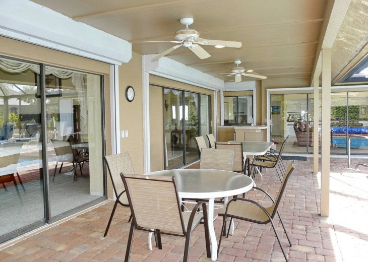 ~ Spacious Waterfront 4 Bedroom with Large Heated SW Facing Pool ~ #25