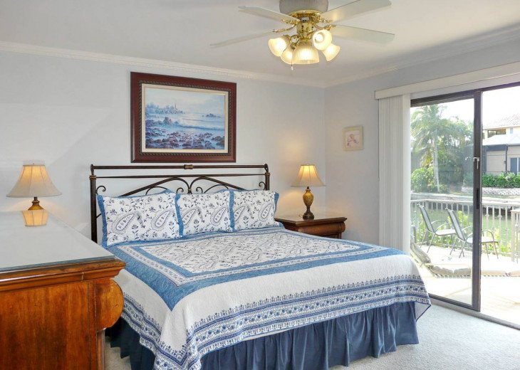 ~ Spacious Waterfront 4 Bedroom with Large Heated SW Facing Pool ~ #21