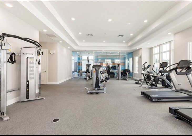 Gorgeous Modern Luxurious W/ pool, hot tub, fitness centre mins away from Disney #16