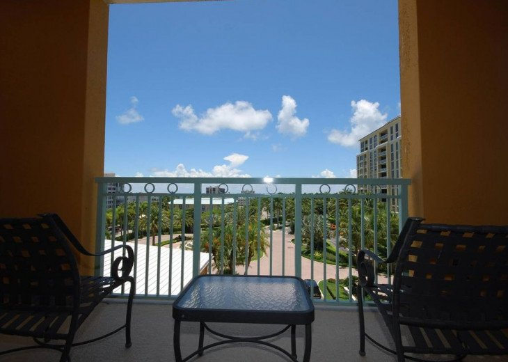 Key Biscayne FL. Ritz Carlton Ocean Front Hotel, 1 Bdr Suite double balcony #6
