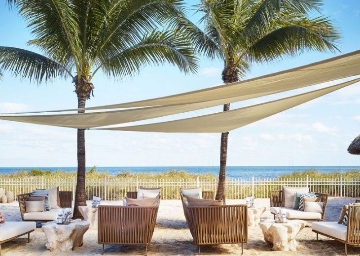Key Biscayne FL. Ritz Carlton Ocean Front Hotel, 1 Bdr Suite double balcony #23