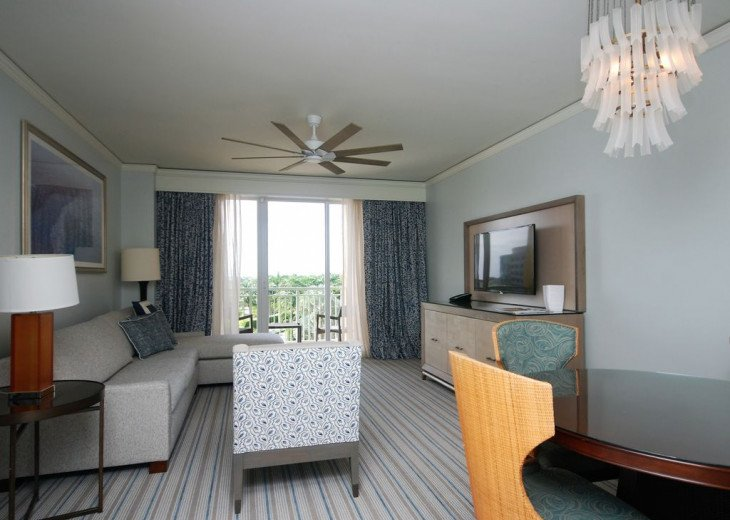 Key Biscayne FL. Ritz Carlton Ocean Front Hotel, 1 Bdr Suite double balcony #5