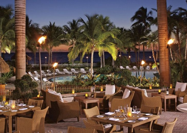 Key Biscayne FL. Ritz Carlton Ocean Front Hotel, 1 Bdr Suite double balcony #22