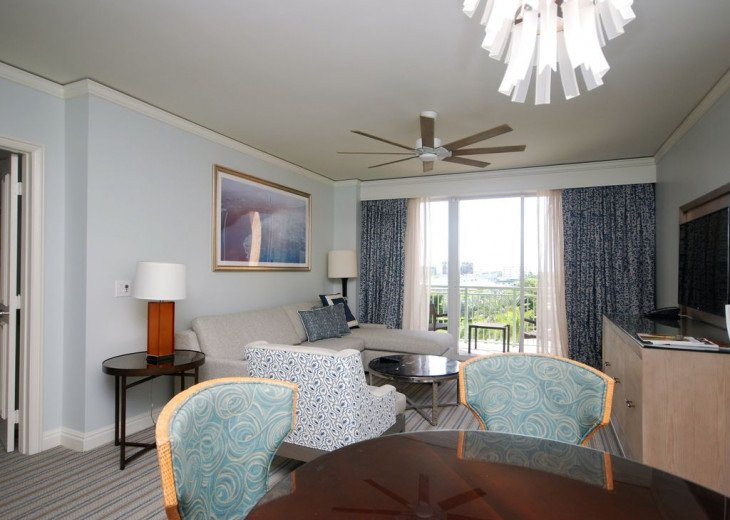 Key Biscayne FL. Ritz Carlton Ocean Front Hotel, 1 Bdr Suite double balcony #2