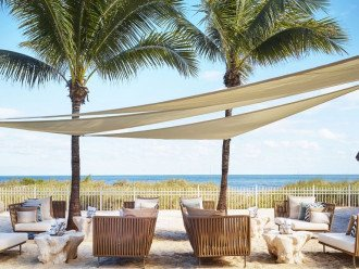 Key Biscayne FL. Ritz Carlton Ocean Front Hotel, 1 Bdr Suite double balcony #1