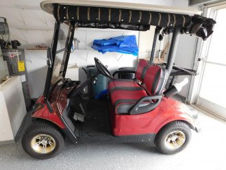 Gas Golf Cart Included