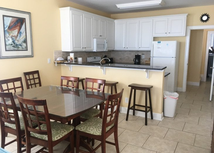 Beach Front 3BR/3.5BA Private Bathrooms!! Pet Friendly! Private Boardwalk right #10